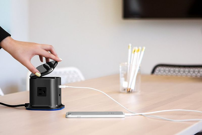 Compact Desktop Charging Stations