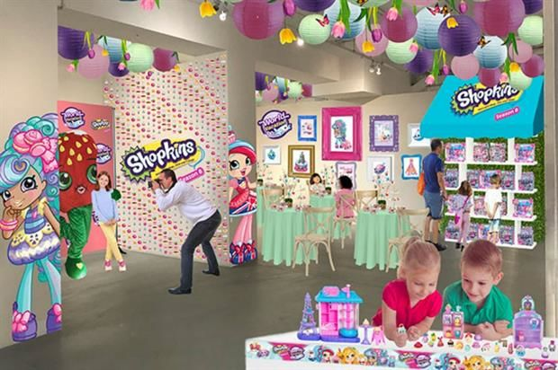 Pop-Up Toy Cafes