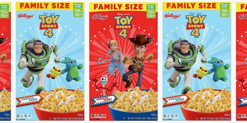 Cartoon Character Kids Cereals
