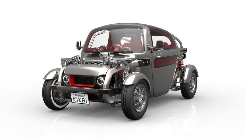 Futuristic Motor Vehicles