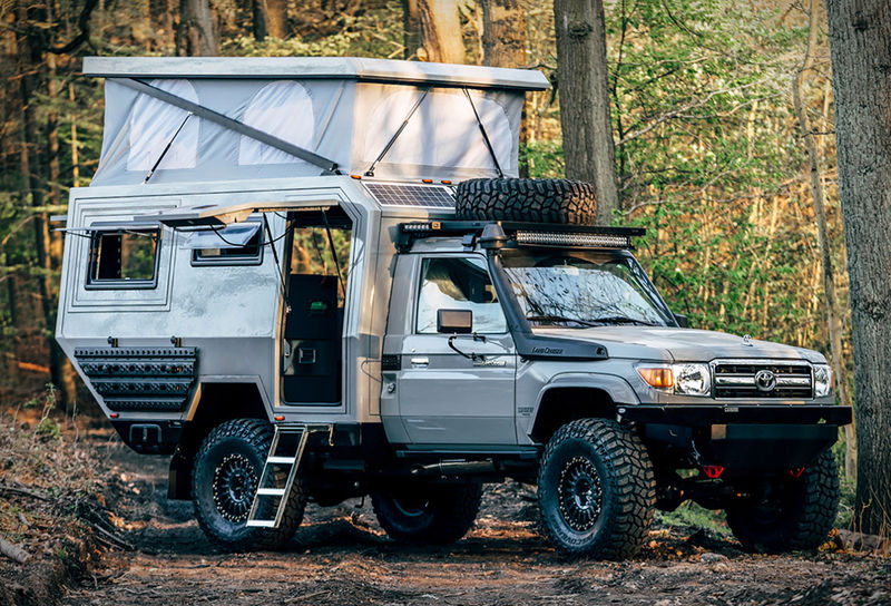 Rugged Off-the-Grid Campers
