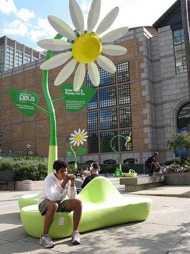 Solar Wi-Fi Flowers