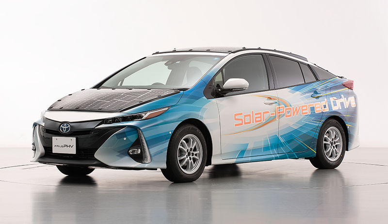 Updated Solar Car Roofs
