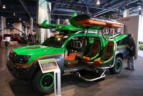 Gnarly Gamer Rides: The Toyota Tacoma ATG Lets You Game ...