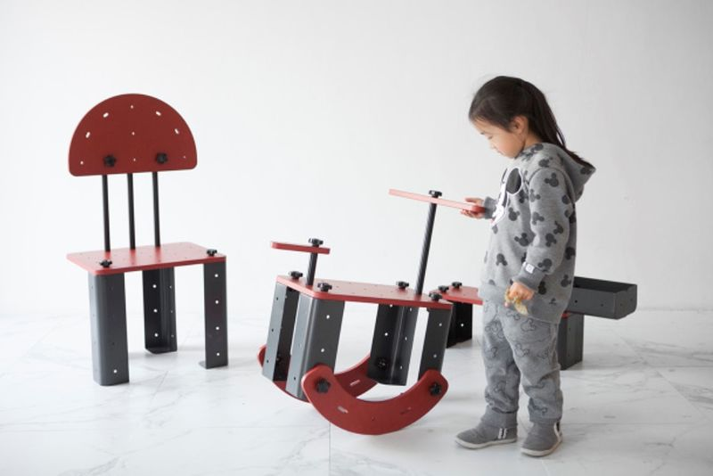 Self-Assembly Child Furniture