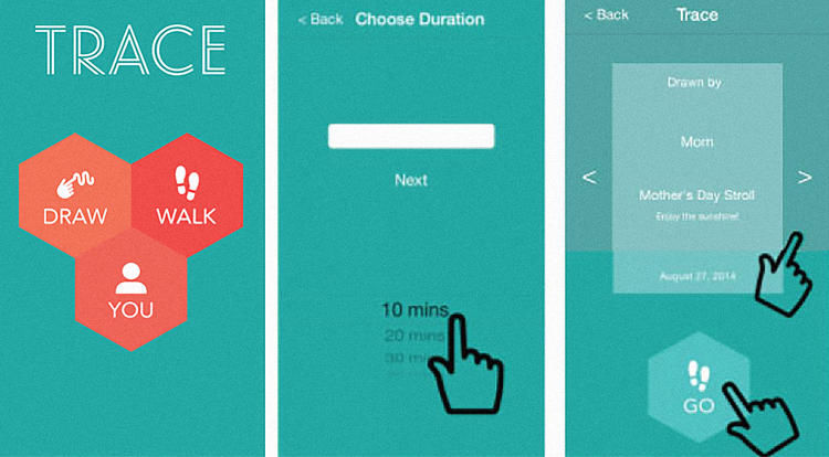 Walk-Encouraging Apps