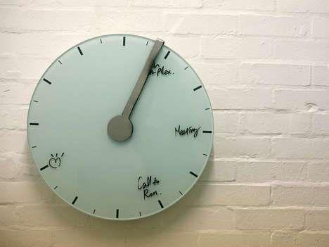 Self-Erasing Clocks