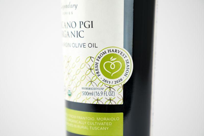 Traceable Olive Oil Bottles