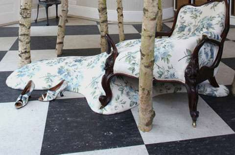 Melting Sofa Sculptures