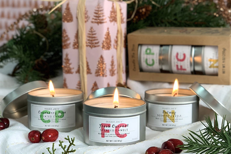 Giftable Holiday Candle Trios