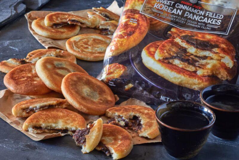 Cinnamon-Filled Korean Pancakes