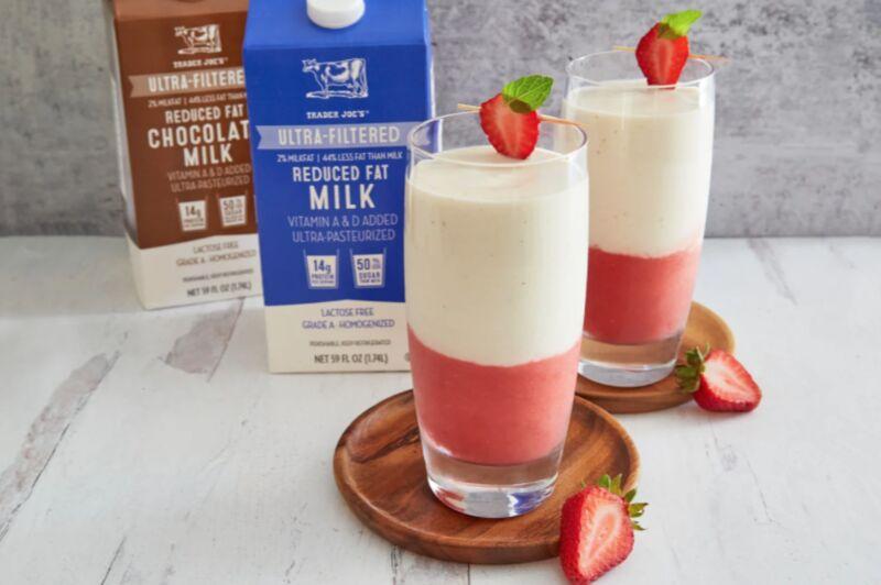 Ultra-Filtered Reduced Fat Milks