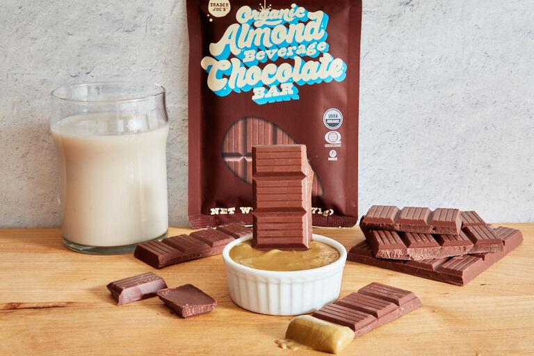 Almond Beverage Chocolate Bars