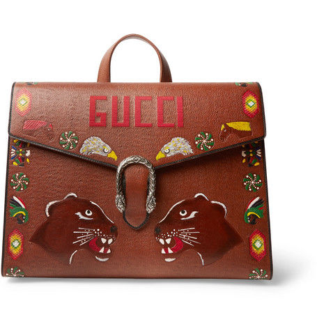 Traditional Hand-Painted Briefcases