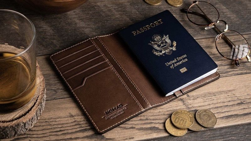 Trackable Travel Document Wallets