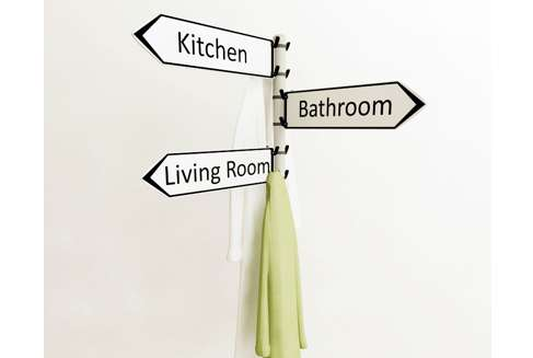 Signpost Coat Racks