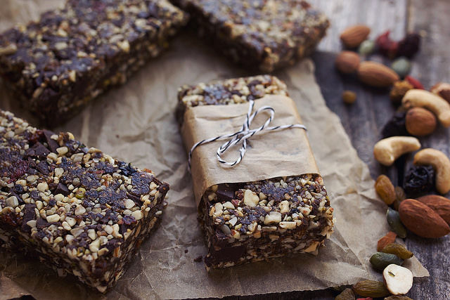 Homemade Trail Mix Bars