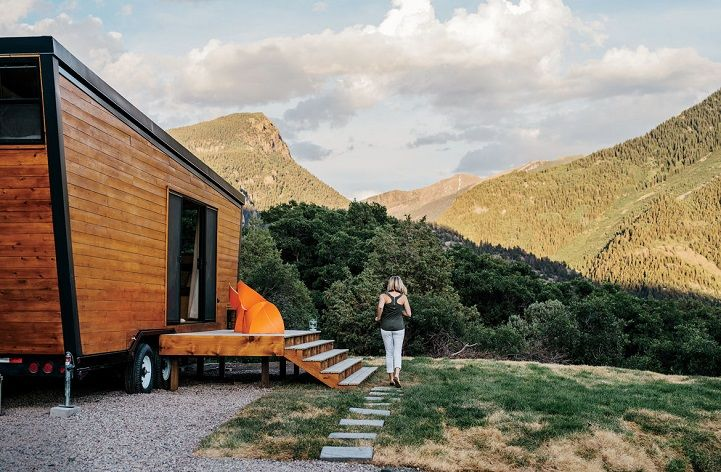 Wooden Trailer Homes