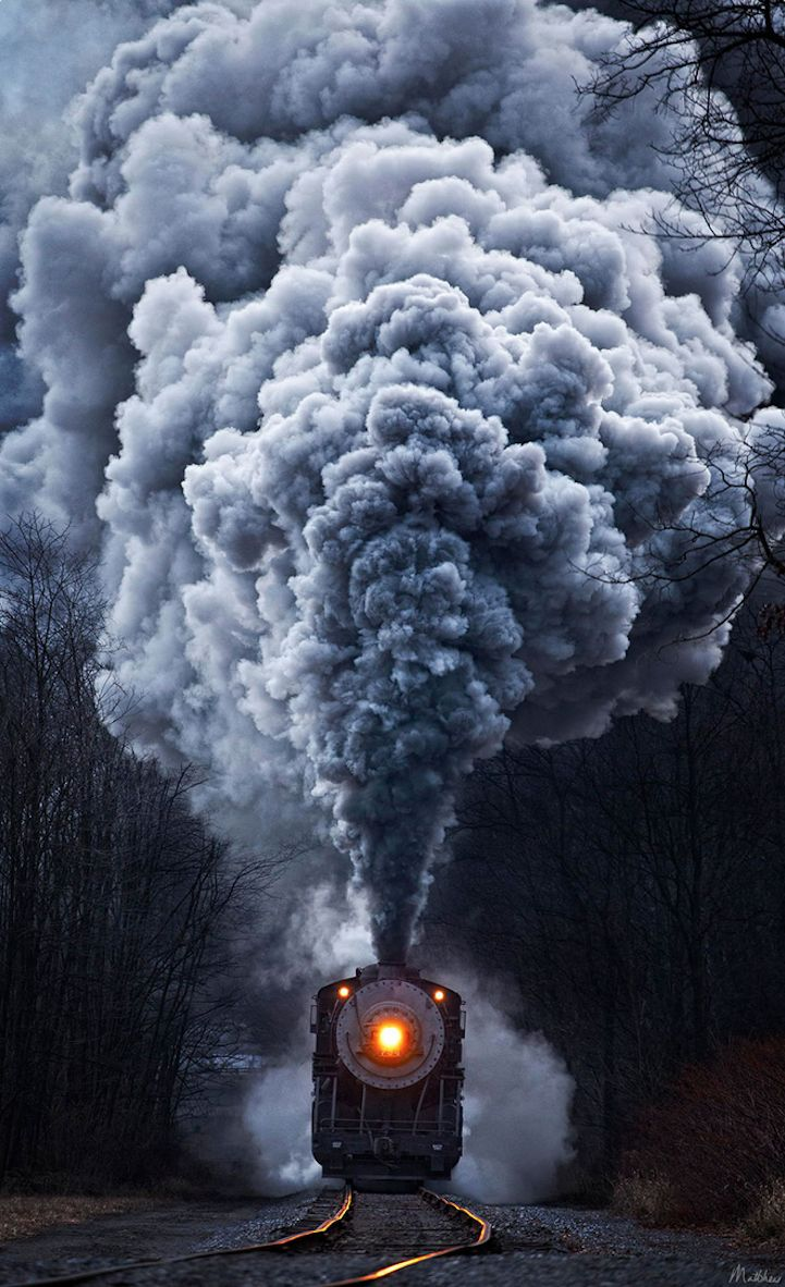 Smoky Train Photography
