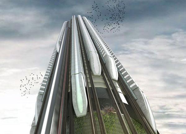 Vertical Train Hubs