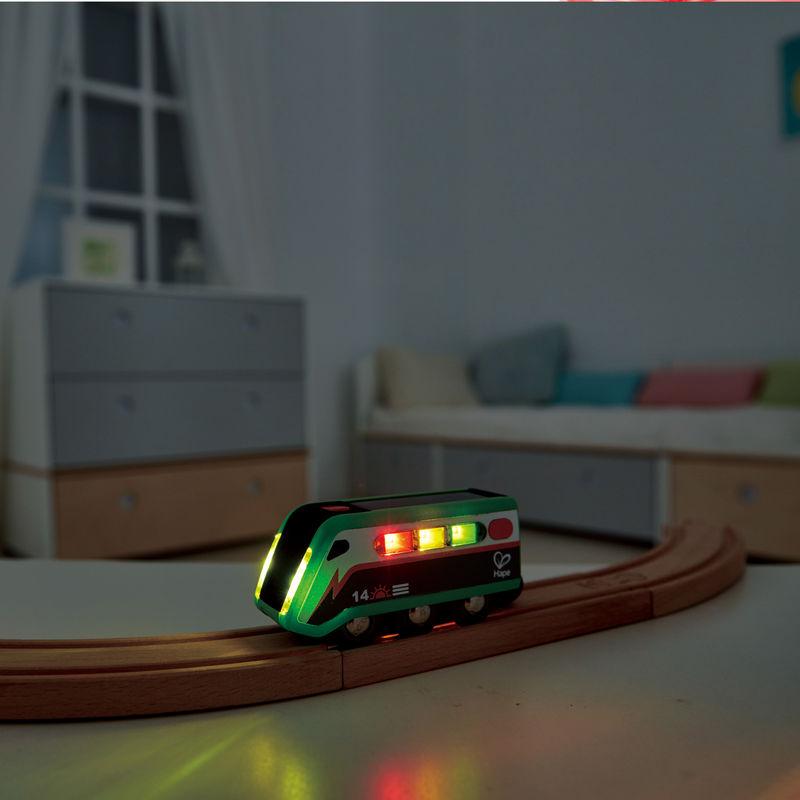 Solar-Powered Train Toys