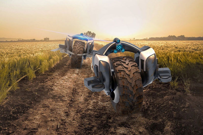 Transforming Tractor Vehicles