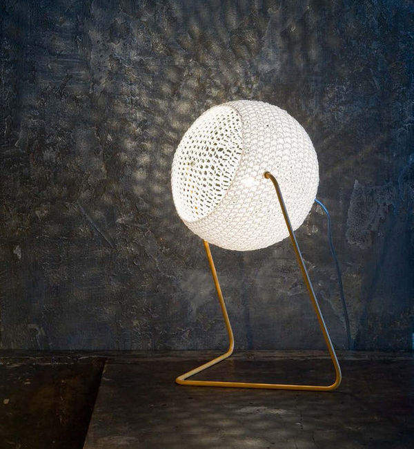 Geometric Wool Lighting