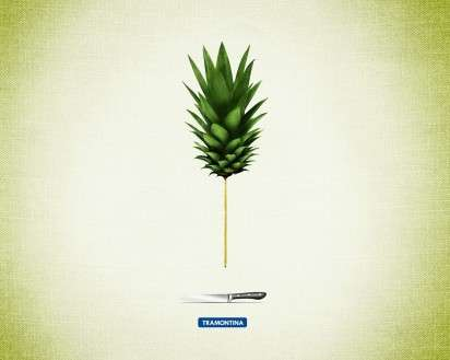 Pencil-Thin Produce Ads