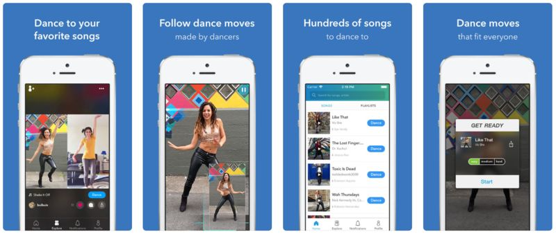 App-Based Dance Lessons