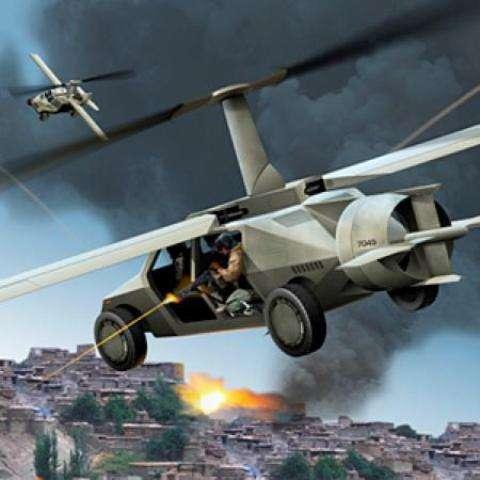 Helicopter-Humvee Hybrids