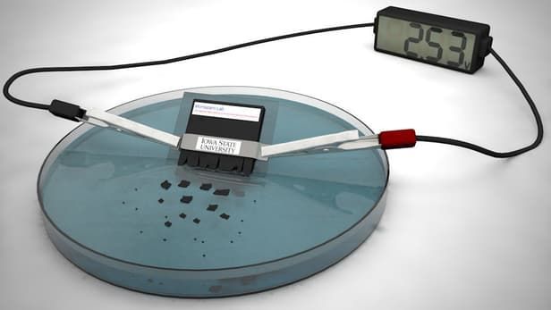 Self-Destructing Batteries