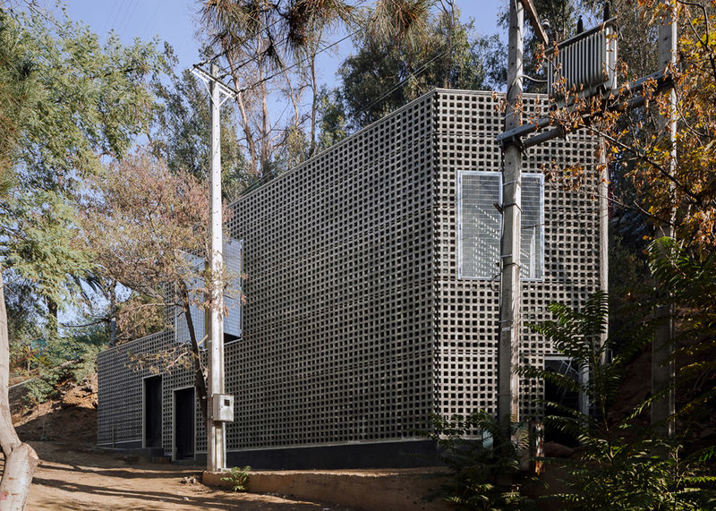 Perforated Concrete Bunkers