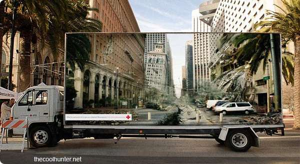 Optical Illusion Advertising