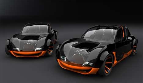 Transparent Supercars