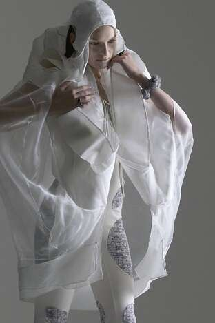 Transparent Futuristic Fashion