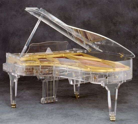 See-Through Grand Pianos