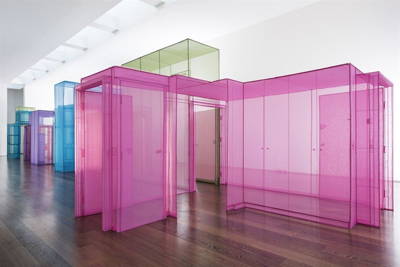 Colorful Transparent Home Installations