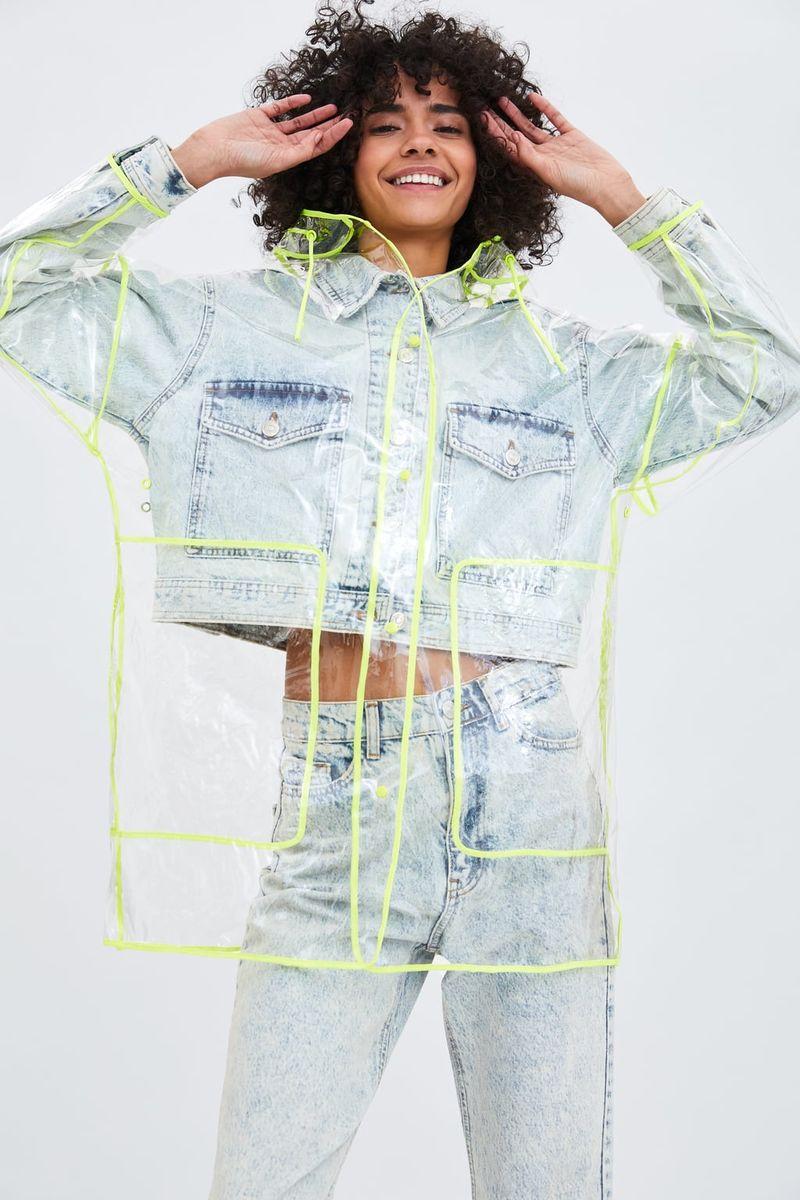 Playful Fast Fashion Raincoats
