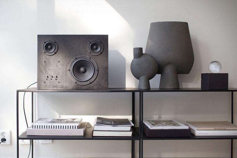 Made-to-Order Steel Speakers