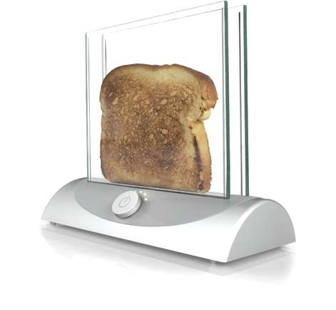 Transparent Toaster Design
