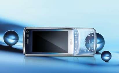 Transparent Touchscreen Phones