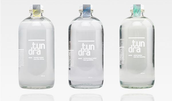 Transparent Water Branding