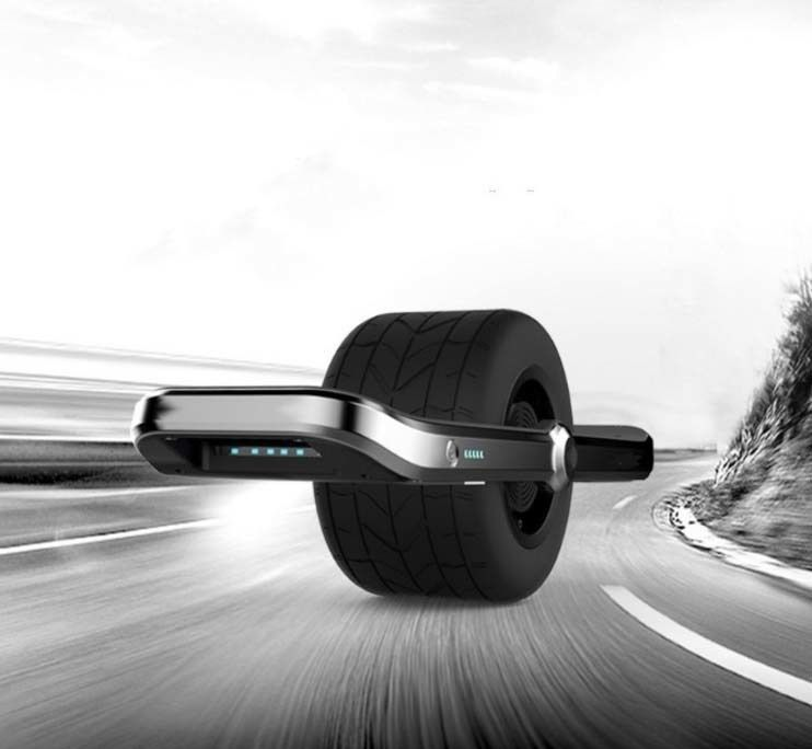 Single-Wheel Aluminum Skateboards