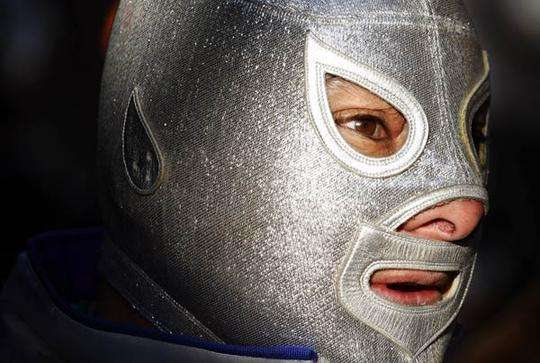Cross-Dressing Masked Wrestlers