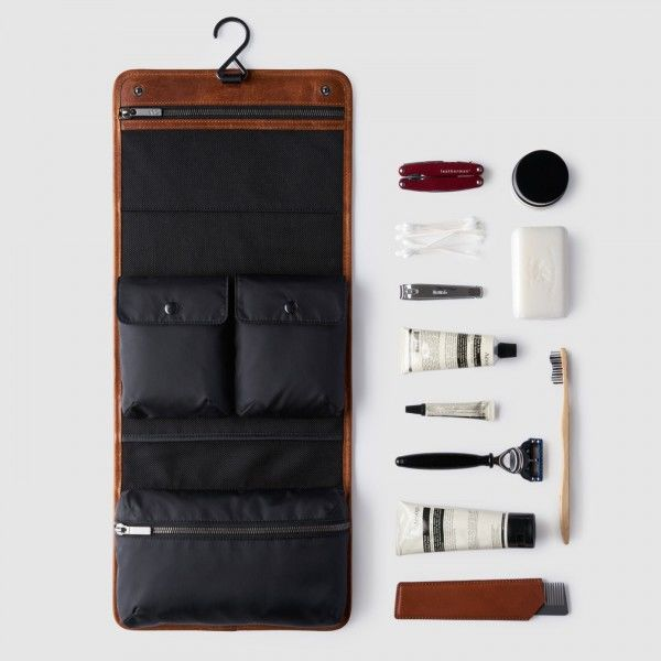 Luxurious Leather Grooming Kits