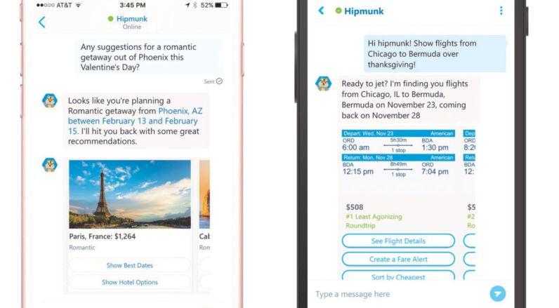 Messaging Travel Bots