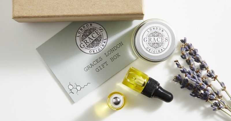 Travel CBD Beauty Sets - Graces London's Miniature Products Share Soothing Benefits on the Go (TrendHunter.com)
