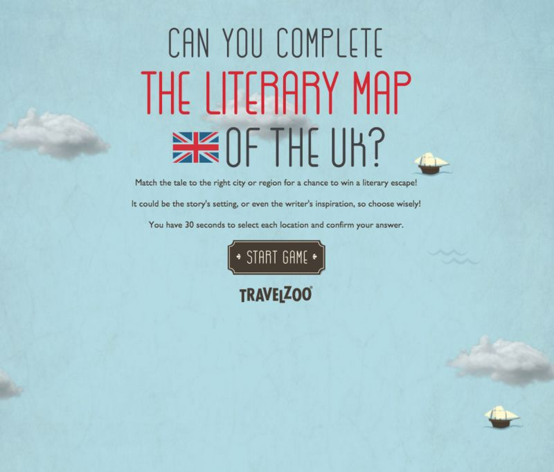 Literary Travel Games