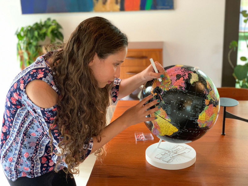 Customizable Travel Globes