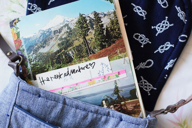 DIY Postcard Diaries